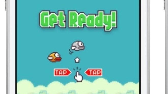 App, Spiel, Gratis, Flappy Bird
