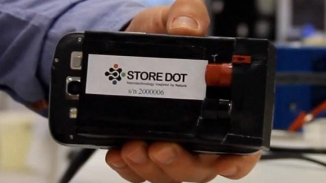 StoreDot, Store-Dot, Quantenpunkt-Akku