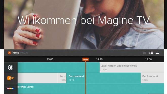 TV-Programm, Magine, EPG
