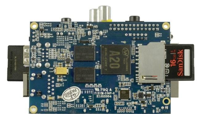 Allnet, Einplatinen-Rechner, Banana Pi, Raspberry Pi Alternative