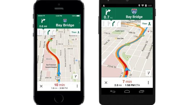 Google, Android, iOS, Google Maps, Google Maps App