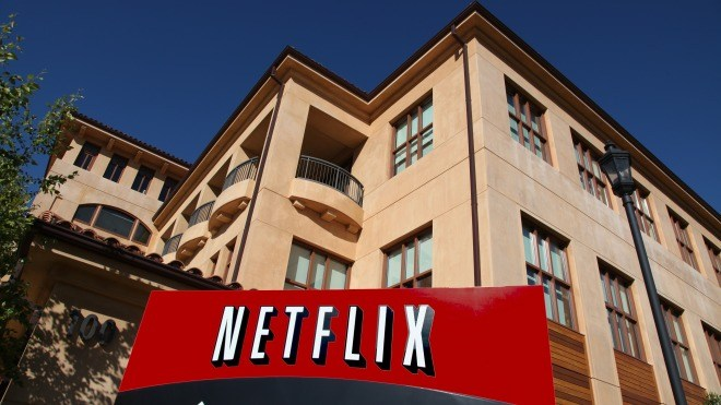 Logo, Netflix, Videoplattform, Videostreaming, Hauptquartier