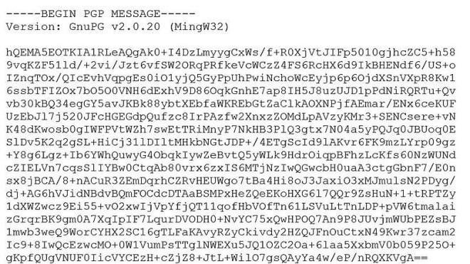Verschl�sselung, Kryptographie, Pgp