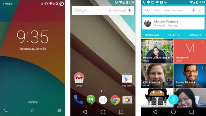 Android L, Android L Release, Google Android L