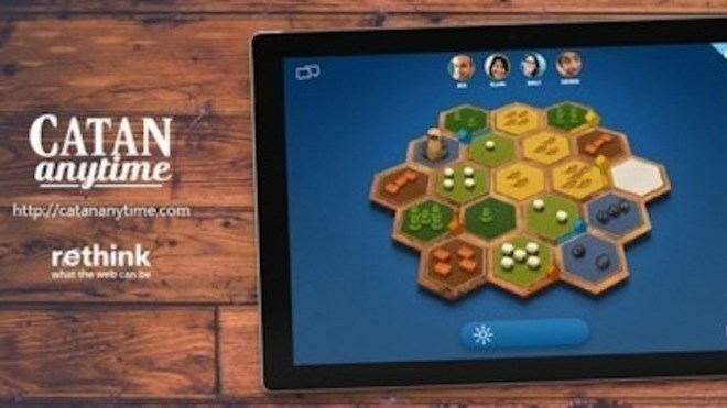 Microsoft, Tablet, Browser-Spiel, Catan