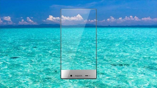 Smartphone, Sharp, Aquos Crystal