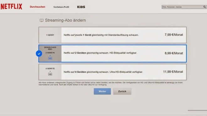 Streaming, Preise, Netflix, Streamingportal, Netflix Deutschland