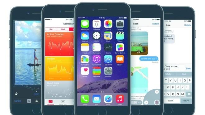 Smartphone, Apple, Iphone, iOS 8