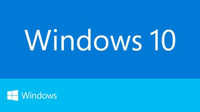 Windows 10, Windows 10 Threshold, Windows 10 Logo