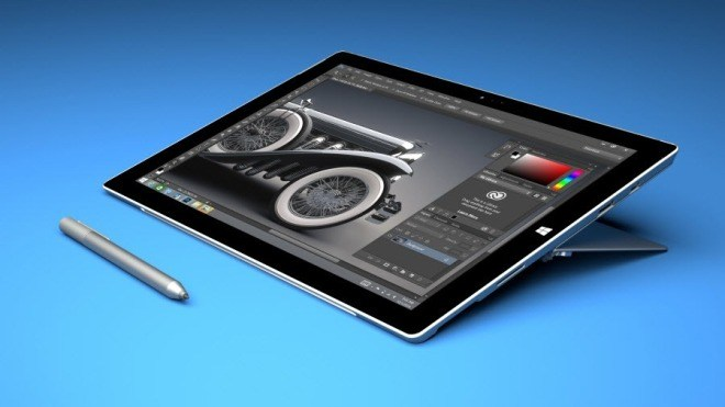 Microsoft, Adobe, Surface Pro 3, Photoshop