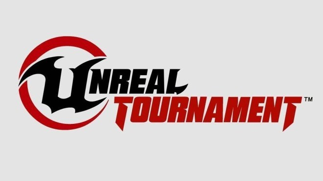 Logo, Shooter, Epic Games, Unreal Tournament, Schriftzug