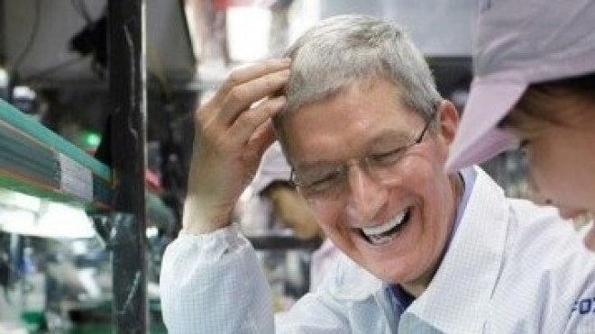 Foxconn, Tim Cook, Apple Foxconn