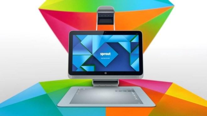 Hp, Hewlett-Packard, Hewlett Packard, HP Sprout, 3D Computer