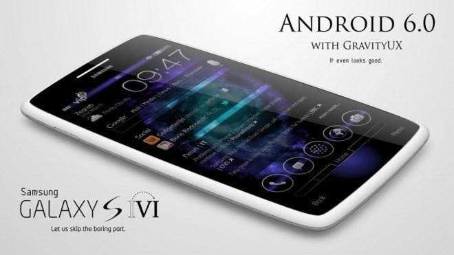 Entwurf, Galaxy S6 Mockup, Concept Phones