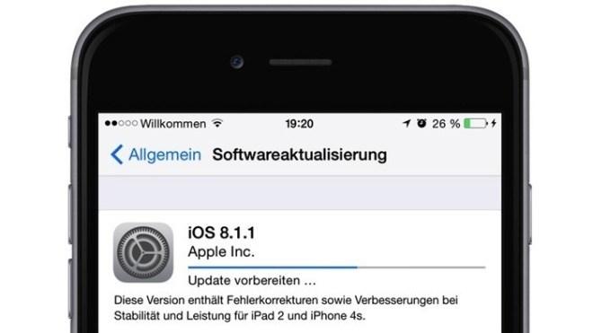 iOS, iOS 8, iOS 8.1.1