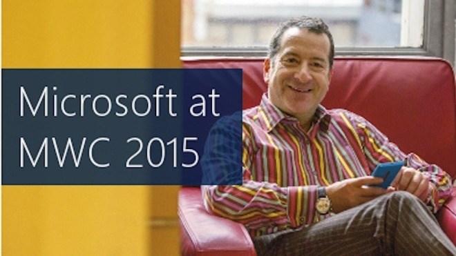 Microsoft, Mwc, MWC 2015