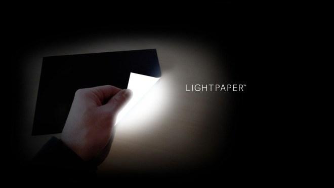 Led, Papier, Leuchtmiitel, Lightpaper