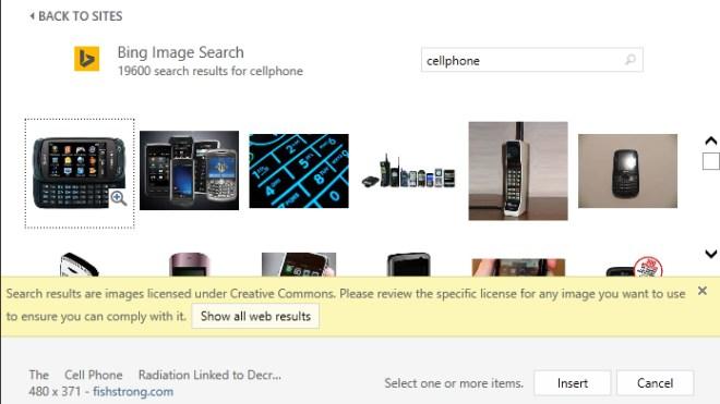 Microsoft Office, Bing Bildersuche, Office Clip-Art