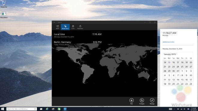 Windows 10, Windows 10 Technical Preview, Windows 10 Build 9901, Windows 10 Technical Preview for Consumers, Windows 10 Desktop