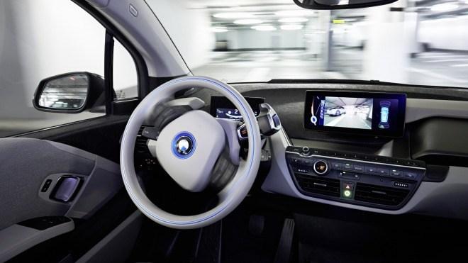 Prototyp, Automatisierung, BMW i3, BWM, Parkhaus
