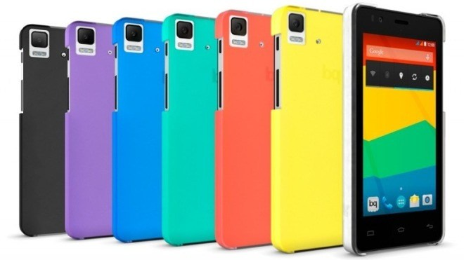 Smartphone, bq Aquaris E4.5, Ubuntu Phone