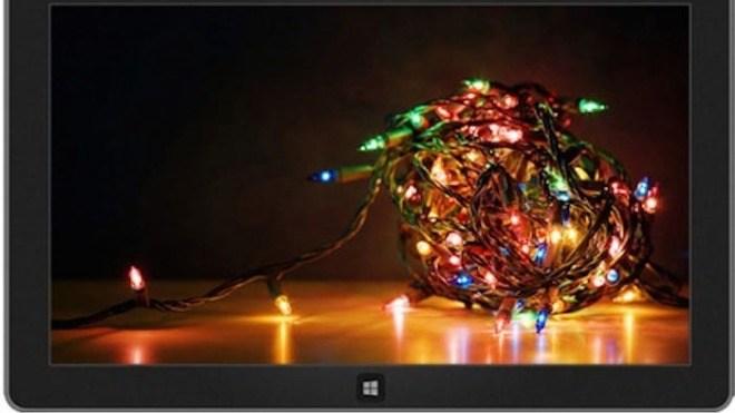 Windows 8, Windows 7, Theme, Themepack, Windows Theme, Desktop Hintergrund, Lichterkette