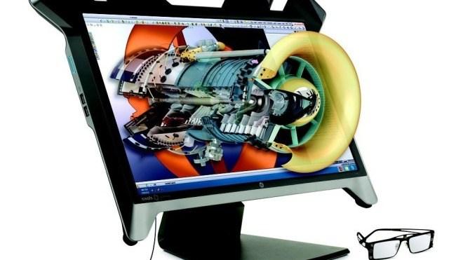 Display, Hp, 3d, Hewlett-Packard