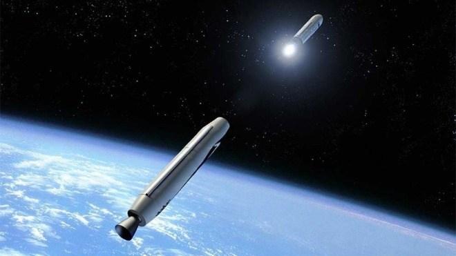 Satelliten, Rakete, Virgin Galactic, LauncherOne