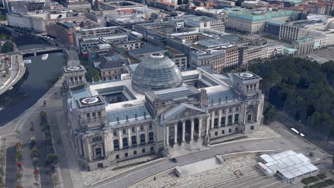 Politik, Berlin, Bundestag, Google Earth, Abgeordnete, Reichstagsgeb�ude, Reichstag