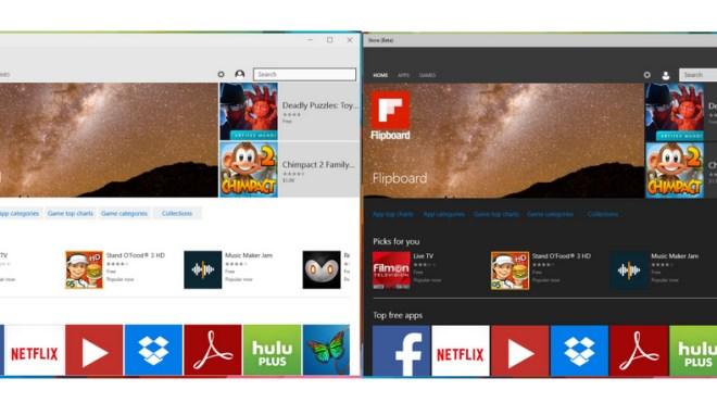 Windows 10, Apps, Themes, Dark-Theme