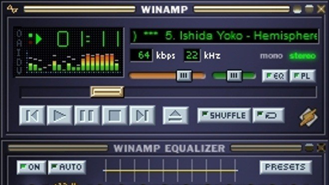 Media Player, Winamp, Multimedia Player