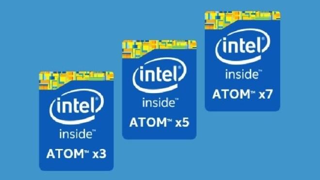 Intel Atom, Intel Atom x3, Intel Atom x5, Intel Atom x7