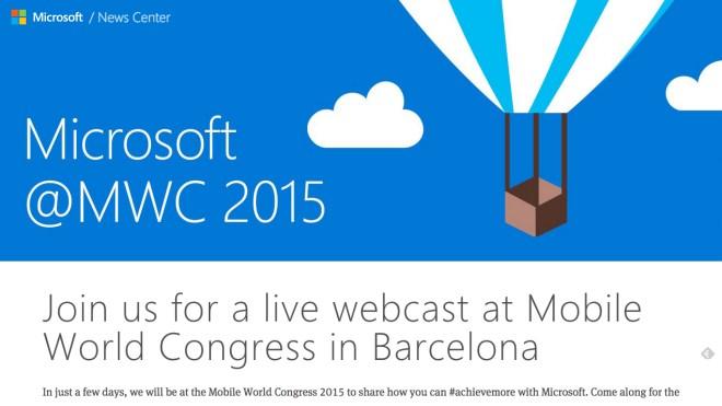 Microsoft, Lumia, MWC 2015