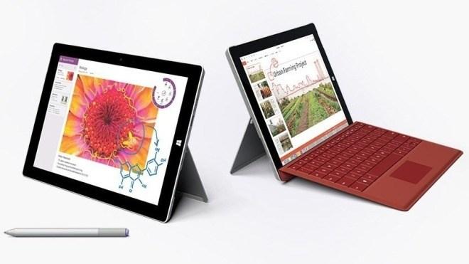 Microsoft Surface, Surface 3, Microsoft Surface 3