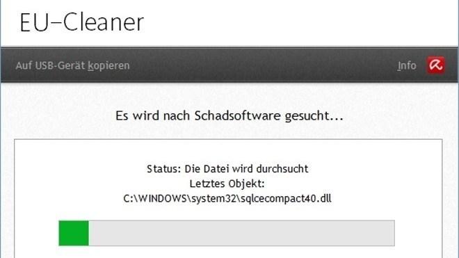 Malware, Virenscanner, Botnetz, Avira, EU-Cleaner, Avira EU-Cleaner