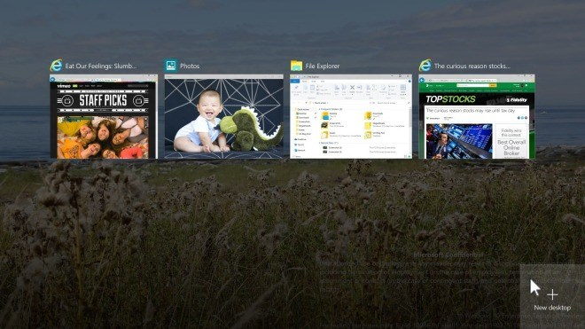 Microsoft, Windows 10, Windows 10 Technical Preview, Windows Technical Preview, Technical Preview, Multi-Desktop, Virtual Desktops