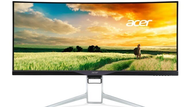 Acer, Monitor, qHD, curved, Acer XR341CKA