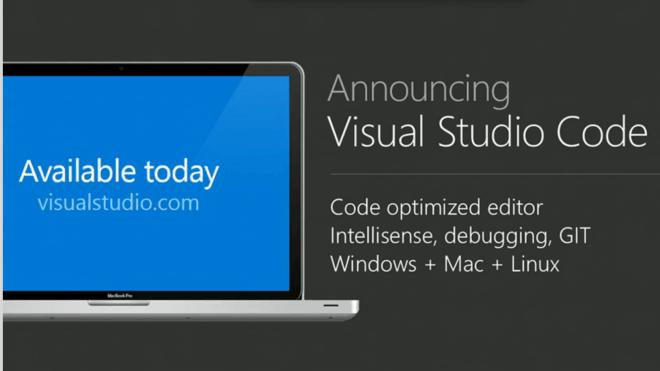 Build 2015, Visual Studio 2015, Visual Studio Code