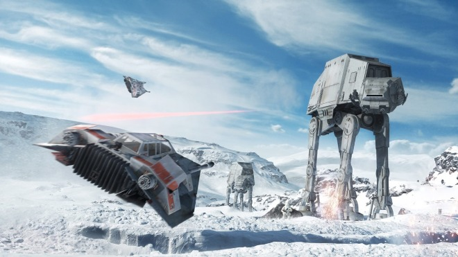 Ea, Star Wars, Dice, Star Wars: Battlefront, Battlefront, AT-AT