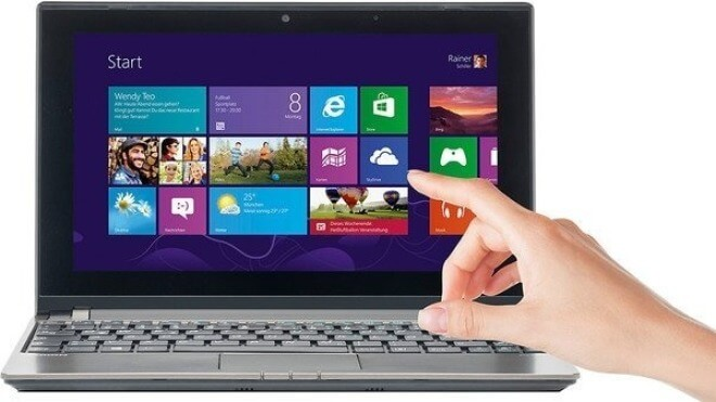 Netbook, Medion The Touch 10, Medion Akoya 1318T