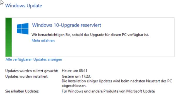 Windows 10, Upgrade, Windows Update, Upgrade Offer