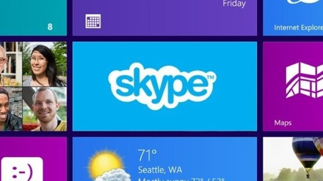 Windows 8, App, Skype, Metro, Voip