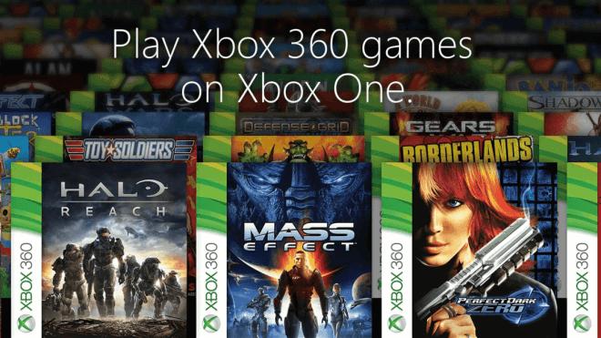 Microsoft, Xbox, Xbox One, Xbox 360, Spielkonsole, Microsoft Xbox One, Abw�rtskompatibilit�t