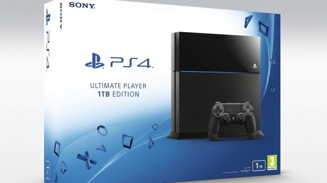 Sony, PlayStation 4, PS4, Sony PlayStation 4, Festplatte, Sony PS4, Terabyte