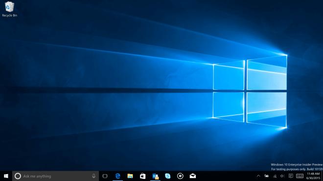 Windows 10, Windows 10 Build 10159, Hero Wallpaper