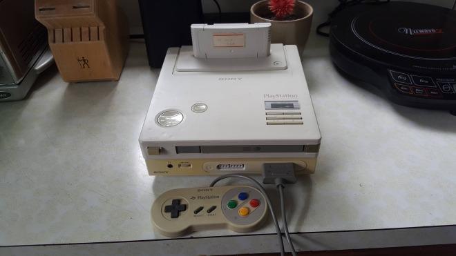 Sony, Nintendo, Prototyp, Nintendo PlayStation