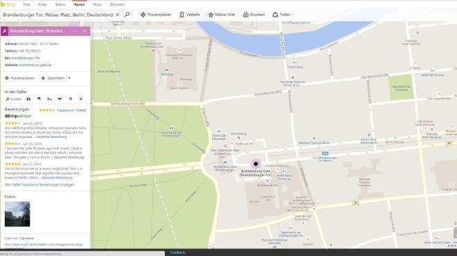 Bing, Bing Maps, Bing maps Preview