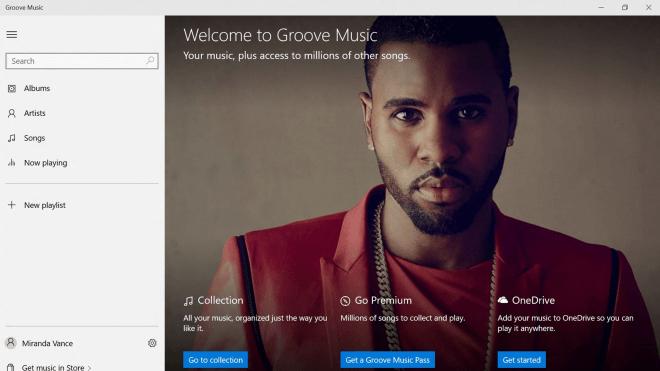 App, Windows 10, Musik-Streaming, xbox music, Groove