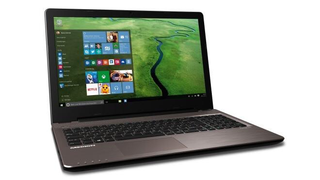 Windows 10, Medion, Windows 10 Notebook, Medion Akoya E6416, ALDI-Notebook, ALDI-Laptop