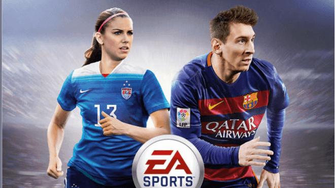 Usa, Fu�ball, EA Sports, Cover, FIFA 16